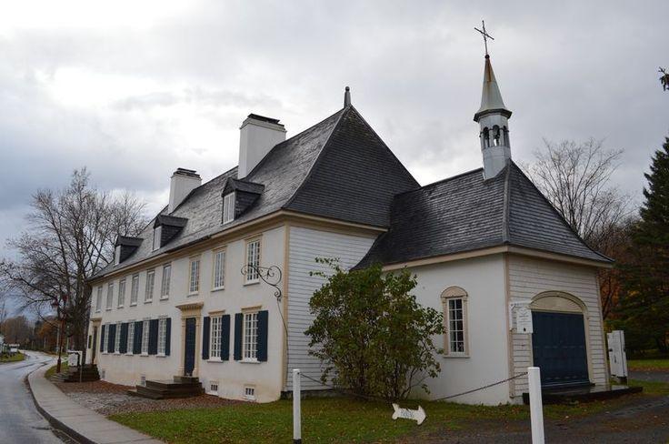 Manoir Mauvide-Genest, St-Jean, Île d'Orléans - 1734