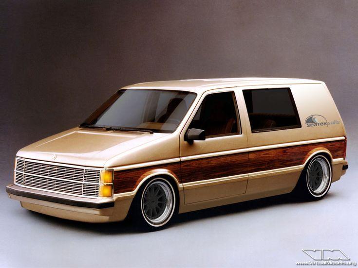 Chrysler Voyager Mk1 Custom, by Sebastian Motsch.