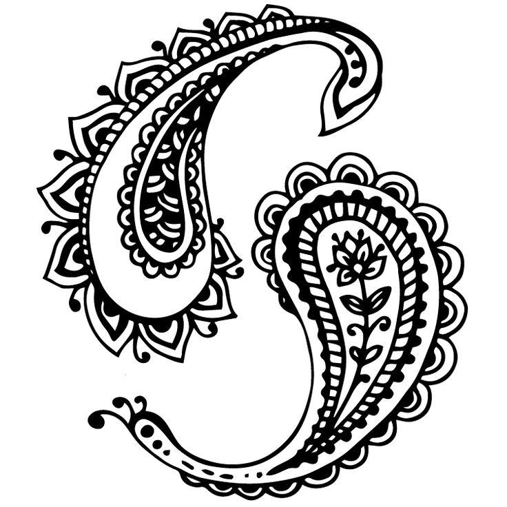 Henna Design Temporary Tattoos #636