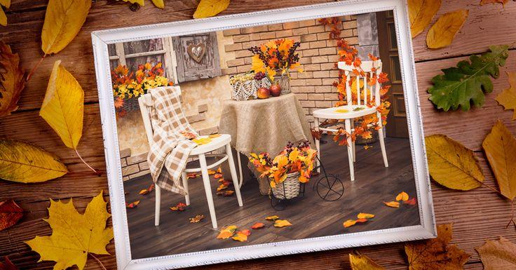 Hanımlar! Yaşam alanlarınızı Sonbahara uygun dekore etmeye hazır mısınız?