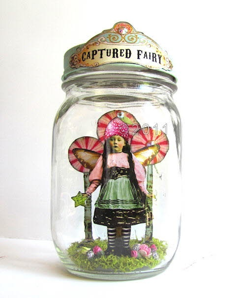 A Captured Fairy by Debrina Pratt