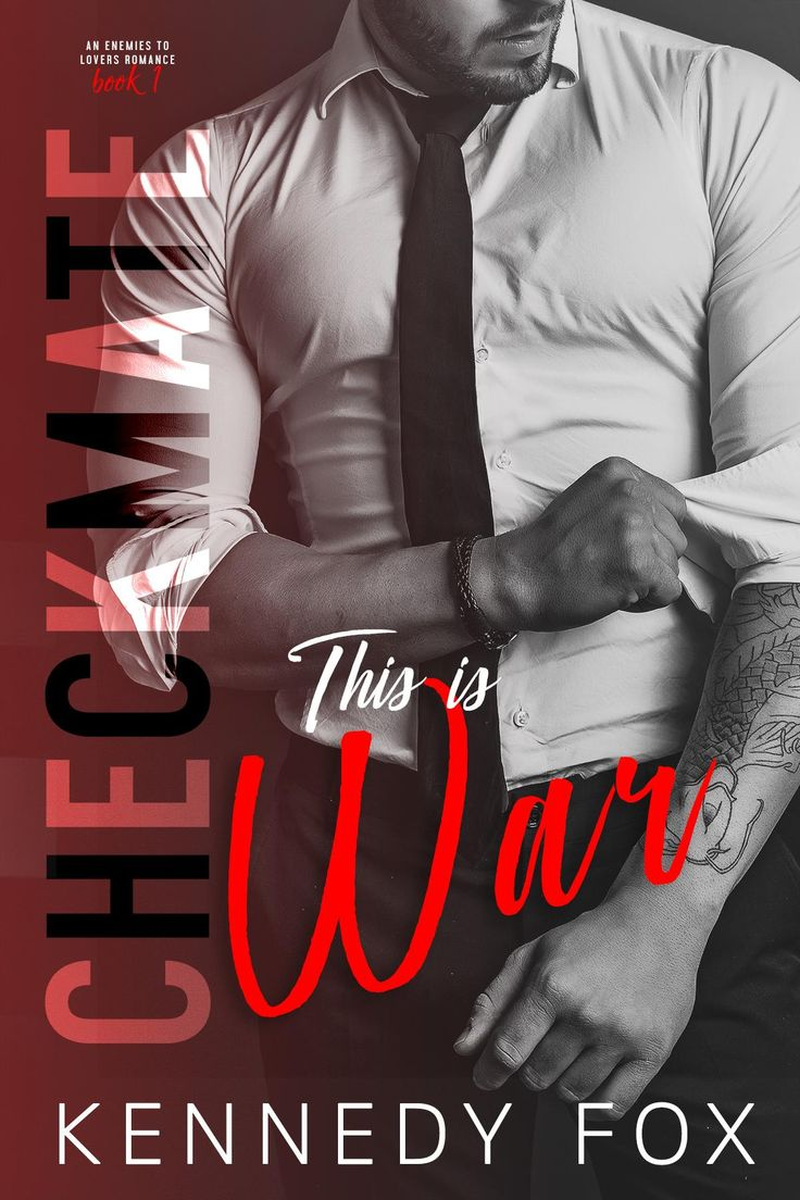Cover Reveal:: This is War: The Checkmate Duet by Kennedy Fox out Oct 3rd