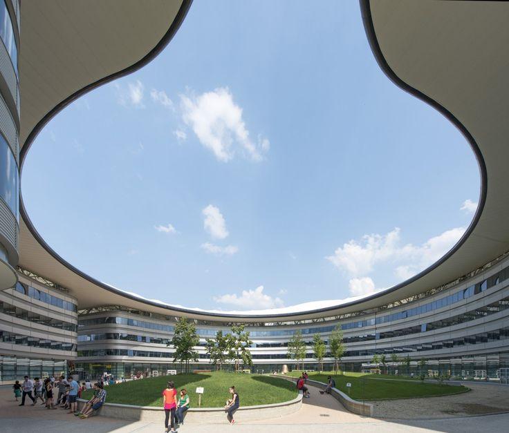 Campus Luigi Einaudi / Foster + Partners Cortesía de Nigel Young - Foster + Partners