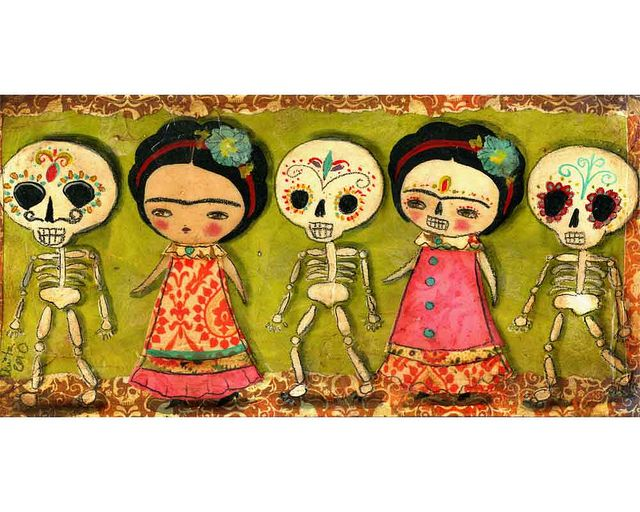 20101006 - Desfile De Dia De Muertos (Day Of The Dead Parade) by Danita Art, via Flickr