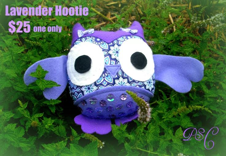 Lil Hootie©  Pattern created by Kerin Matz