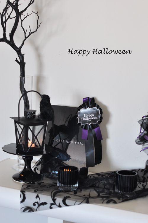 halloween decorations ideasハロウィンディスプレイのアイデア2014③ スタイルのある暮らし It's FLORAL NEW YORK Style ~暮らしをセンスアップするフラワースタイリングで毎日を心豊かに、心地よく~