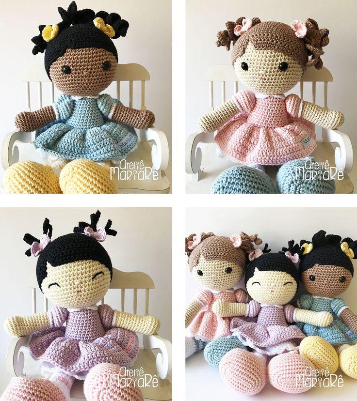 Aprenda a fazer bonecas de amigurumi no Curso Online de Amigurumi do Ateliê MariaRê. Aprenda a ler o projeto e executar as suas próprias bonecas de Amigurumi.