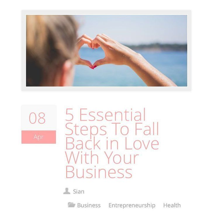 We've been featured on @classycareergirl again! Check out our 5 essential tips for falling back in love with your business when you're feeling uninspired  link in bio  ... #smallbusiness #businesswoman #blogger #blogging #bloggerlife #classycareergirl #ccg #business #businessowner #businessinspiration #inspiration #motivation #mondaymotivation #smallbiz #businessadvice