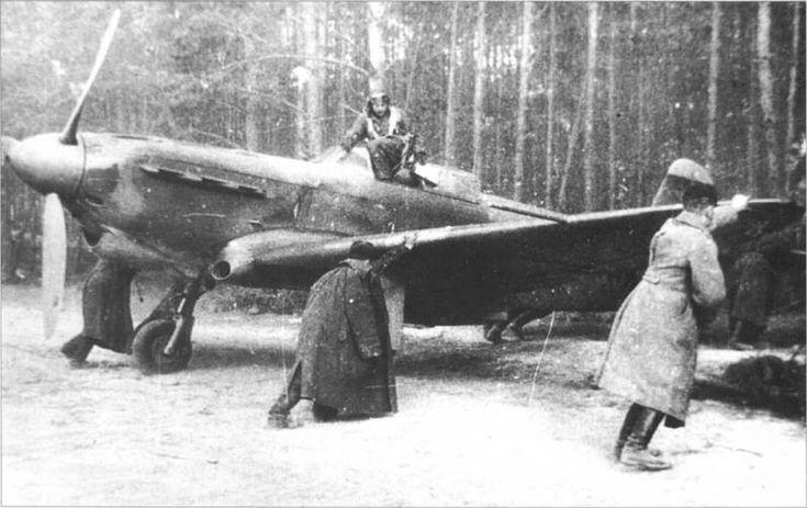 Yavkolev YAK-1, russian main plane during second world war