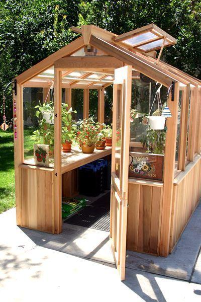 DIY Greenhouse – Gewächshaus selbermachen – Garte…