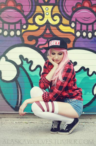 obey girl hat hot