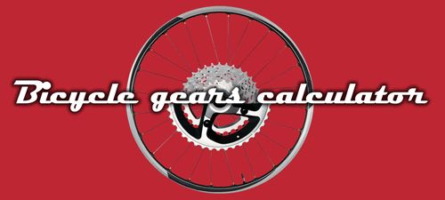 Bicycle gears calculator