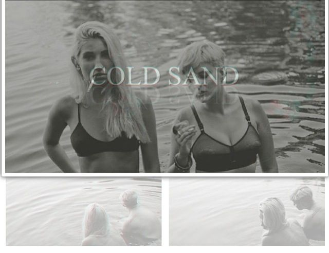 Cold Sand, Marcia and Chichi Paton   Shot by Aidan Tobias