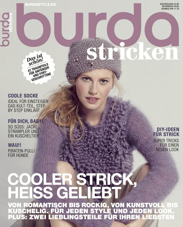 BURDA STRICKEN - WINTER - 2015