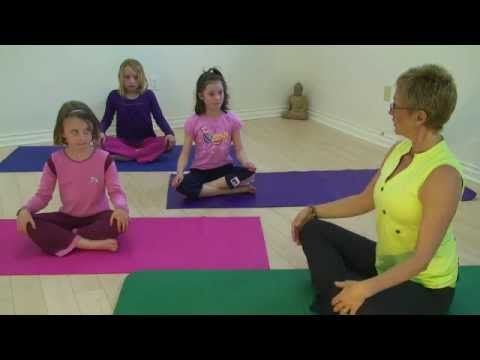 So far my fav video for kids. The 'popcorn' and 'washing machine' parts are a favorite in our house. Namaste Yoga 31: Kids Yoga with Guest Instructor Mai Meret