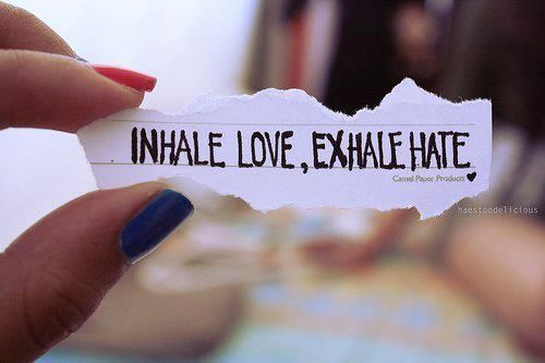 If onlyRelationships Quotes, Exhale Hate, Daily Reminder, New Life, Deep Breath, Life Mottos, Inhale Exhale, A Tattoo, Love Quotes