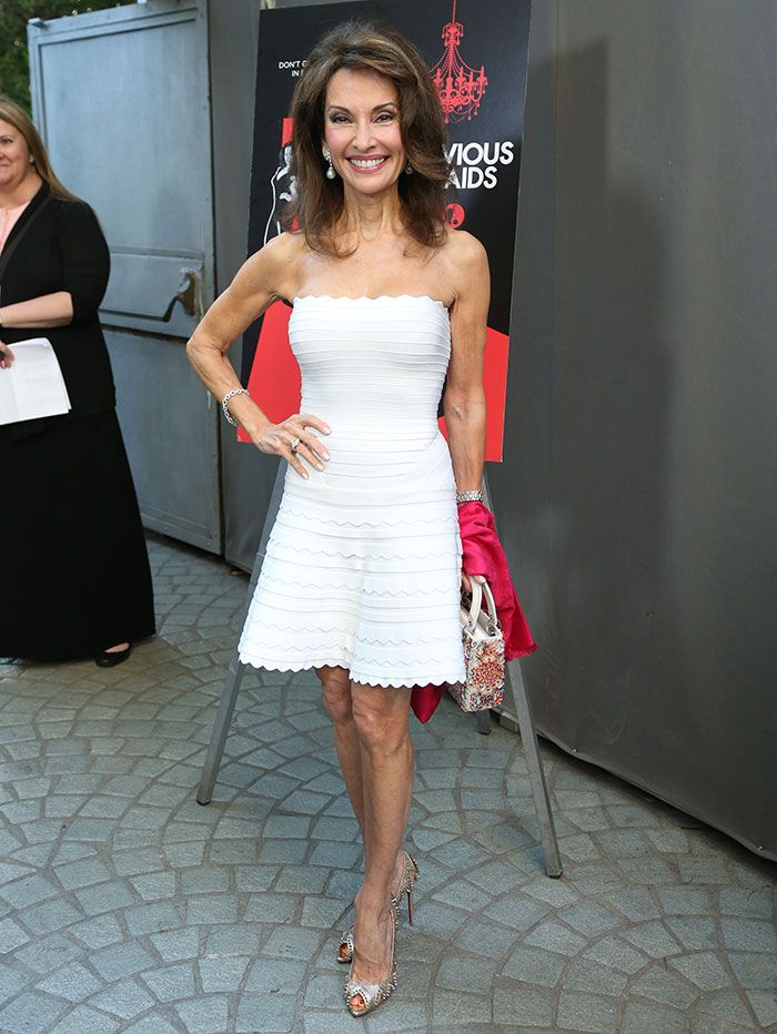 Susan Lucci Stuns in Christian Louboutin 'Circus City' Pumps
