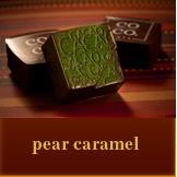 co co. sala pear caramel artisanal chocolate
