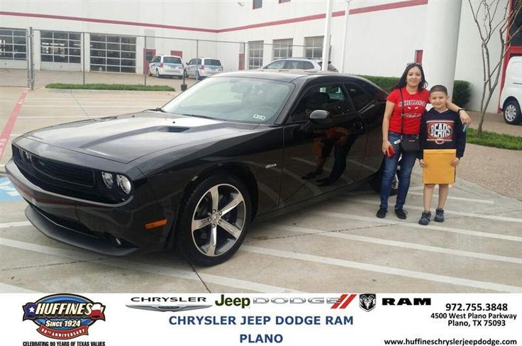 Congratulations to Doraneli Rosas on your #Dodge #Challenger purchase from Jonathan  Ramos  at Huffines Chrysler Jeep Dodge RAM Plano! #NewCar