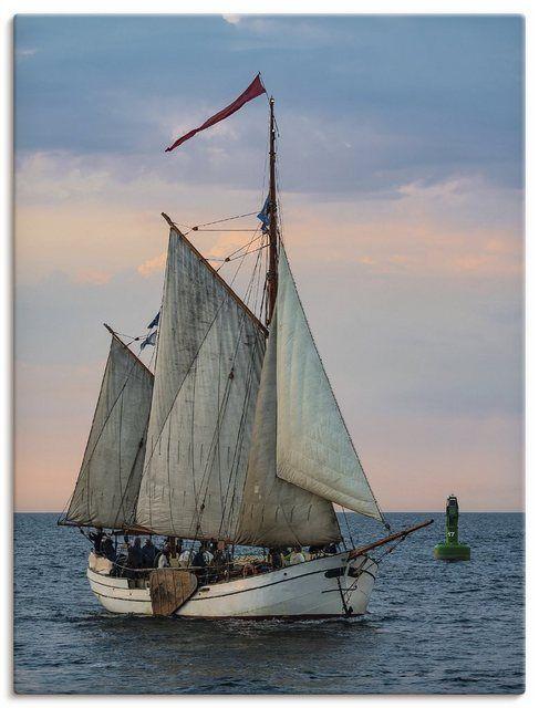Artland Leinwandbild »R. Ködder: Segelschiff auf der Hanse Sail« online kaufen
