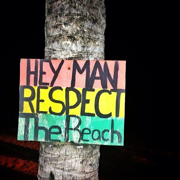 HEY MAN Respect the #Beach #stcroix