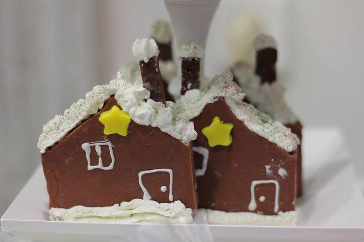 Christmas House Soap bar. By sapounakis.gr