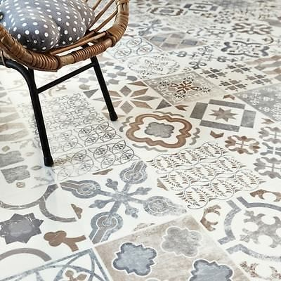 Details About Moroccan Style Vinyl Flooring Sheet Cushion
