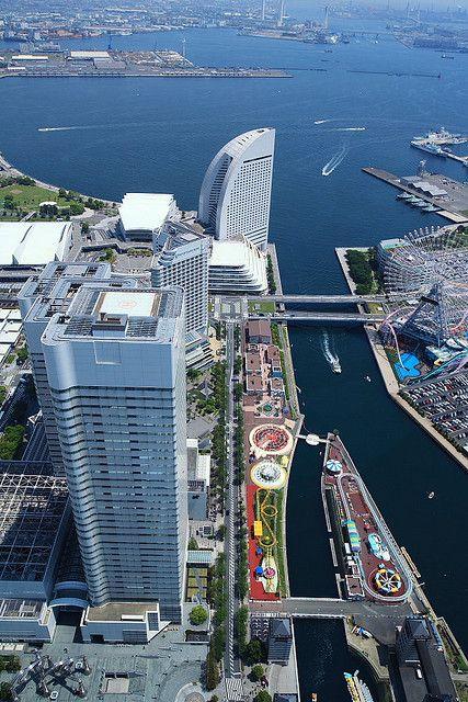 Yokohama Landmark Tower, Kanagawa, Japan.