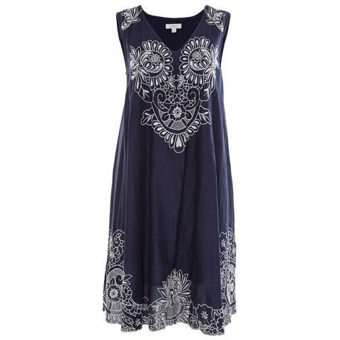 Poetry Luca Embriodered D/Layer Dress
