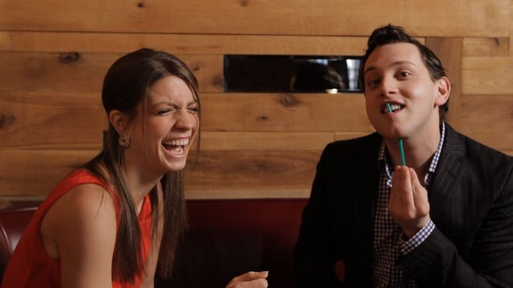 Learn how to push a straw through your jaw in this dinner table magic tricks video from Howcast.