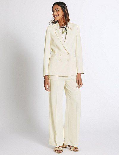 Patch Pocket Jacket & Trousers Set | Marks & Spencer London
