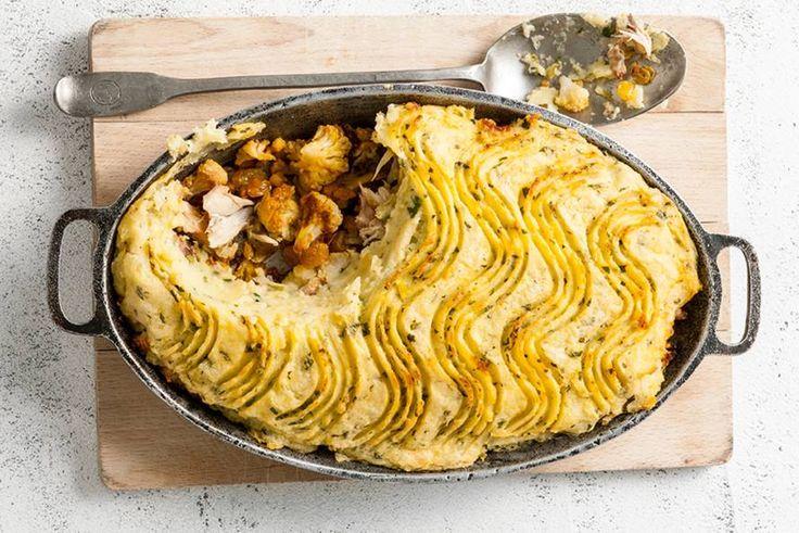 Mmm... een pie met een oosters tintje: met kokosmelk en koriander - Recept - Allerhande