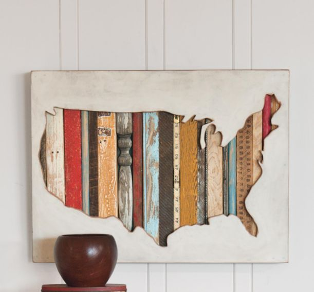Best Cool USA Maps Images On Pinterest Usa Maps Globes And - Us map wall decor