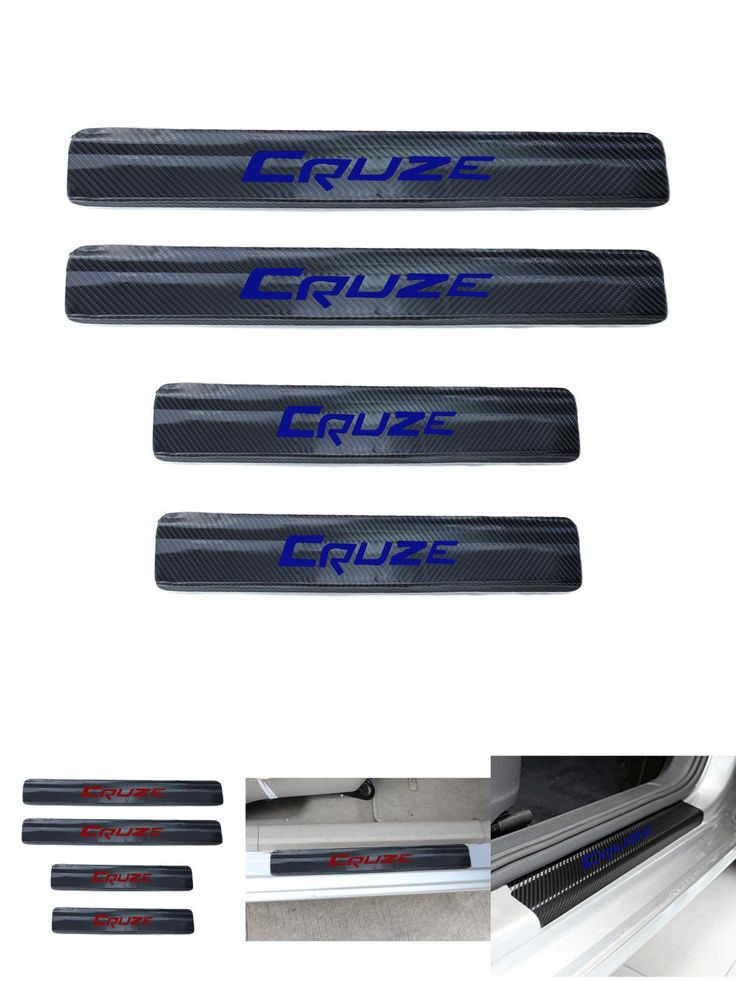 [Visit to Buy] Carbon Fibre Scuff Plate Door Sill For Chevrolet Chevy Cruze Sedan Hatchback 2009-2015 Anti-Wear Stickers car-styling #Advertisement