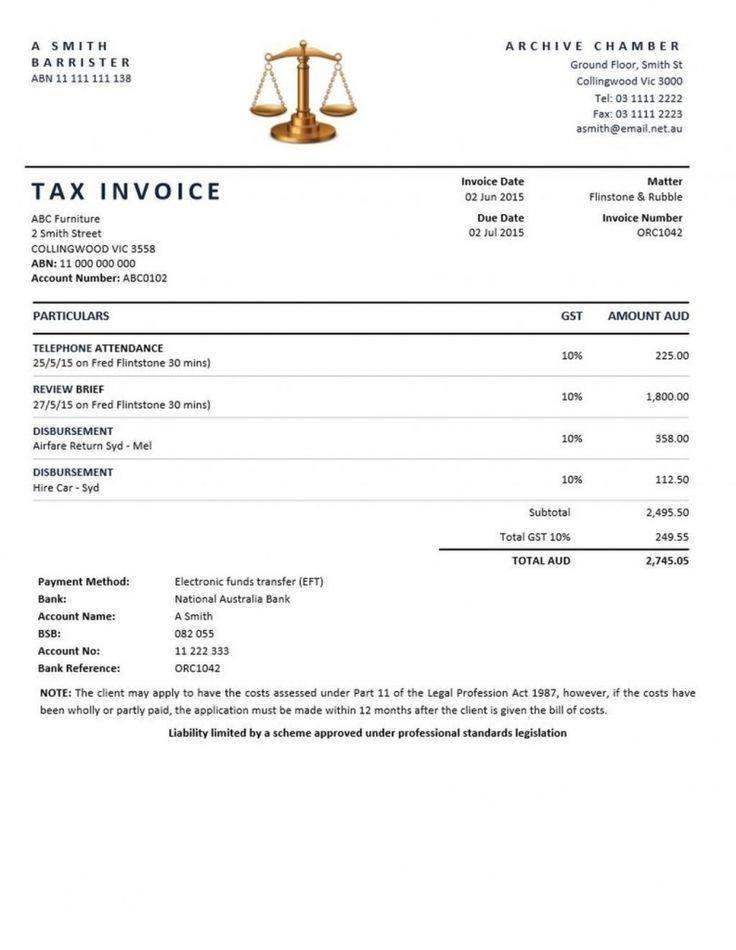 267 best invoice images on Pinterest Sample resume, Resume - legal invoice template