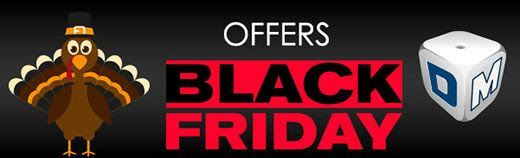Thanksgiving - Black Friday Bonus Offers: 45 and 55 Free Spins plus 333% Deposit Bonus and 33 Free Spins for New Players at Red Stag Casino