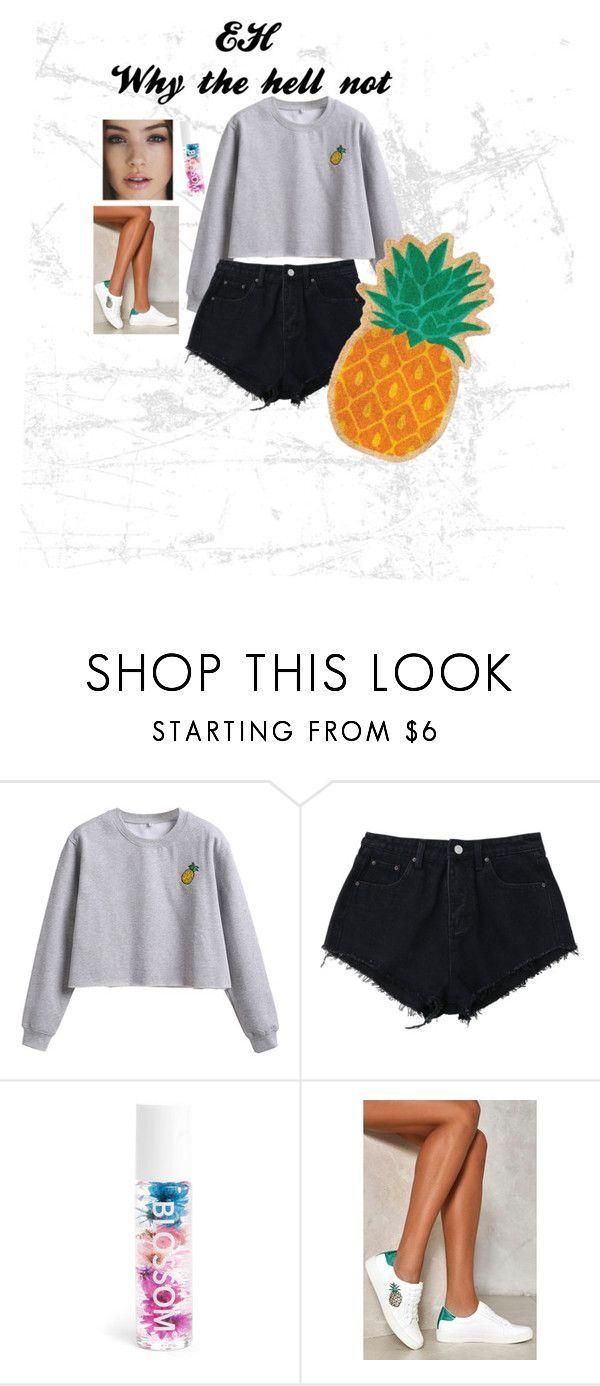 """""""Go for it, but keep it simple"""" by swipernoswippy on Polyvore featuring WithChic, Blossom, Nasty Gal and Sunnylife"""
