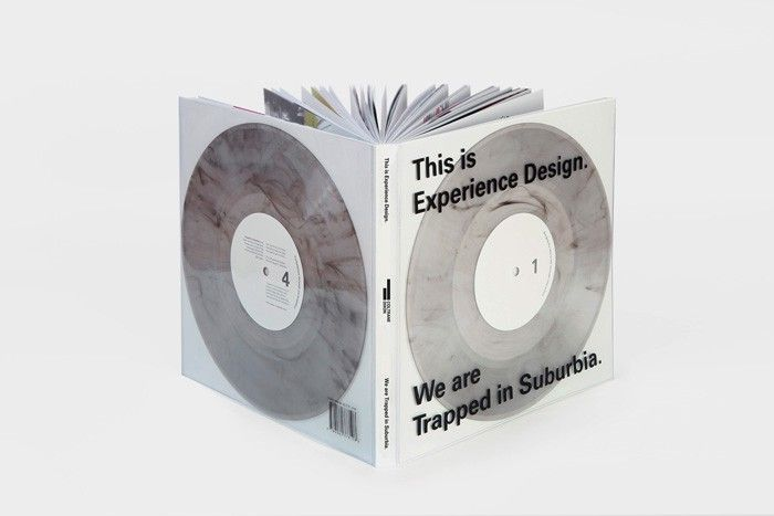 """With the term Experience Design people often think of digital interaction. We don't. Based on our work we have translated our philosophy into an interactive publication. The publication is an embodiment of our motto by Confusius; """"Tell me and I'll forget. Show me and I may remember. Involve me and I'll understand.""""   #Inspiration #Design #Creative #Book #Special #Publication  #Cover #Experimental #Interactive #Unique #Art  #Binding #Layout #Grid #Graphicdesign #Editorial #Paper"""