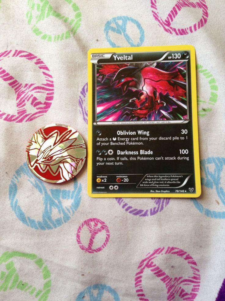 Yveltal card   Pokemon...