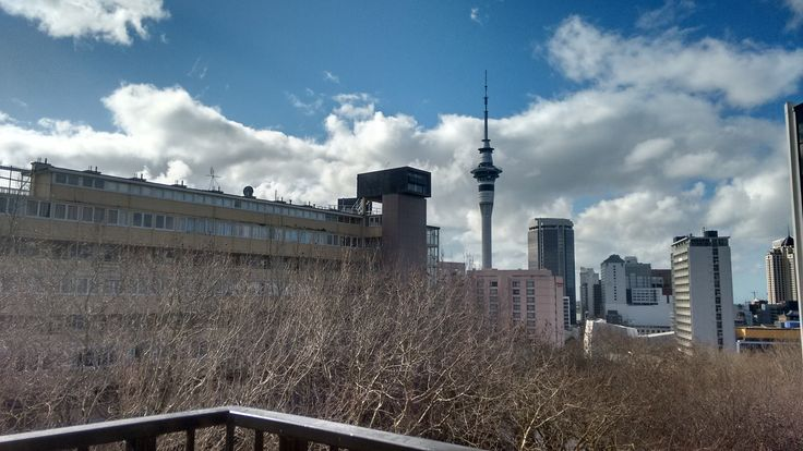 Bringing in winds of changeon Day 19, it's50 Shades of Auckland Sky Tower. September started with heavy rain. With afternoon came the winds of change! Looking at blue sky inbetween the clo…