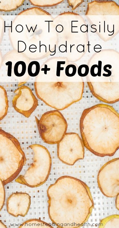 Dehydrating Guide for 100+ foods. This is a wonderful resource, I can't wait to try it. repinned by www.HealthyOrganicWoman.com #100+ #dehydrating #guide ❤️