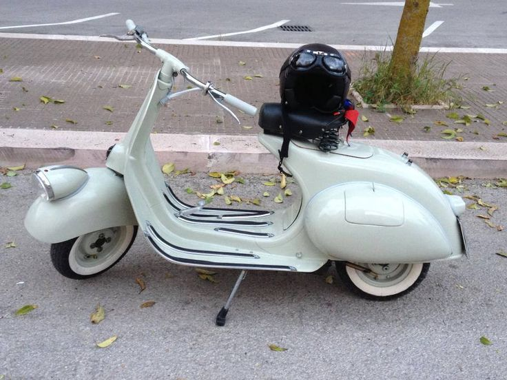 The classic style of this 1955 Vespa can be seen in today's Vespa GTV. We currently have 4 Vespa GTV's in stock. If you're interested in obtaining a classic piece of design for yourself, come on down to our showroom and check them out!