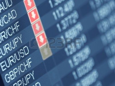 K2 | http://www.123rf.com/photo_8257651_currency-trading-closeup-and-shallow-dof-for-forex-stock-market-and-other-finance-themes.html?term=exchange