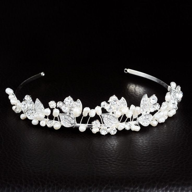 Vintage Rhinestone Bridal Headband Wedding Tiaras