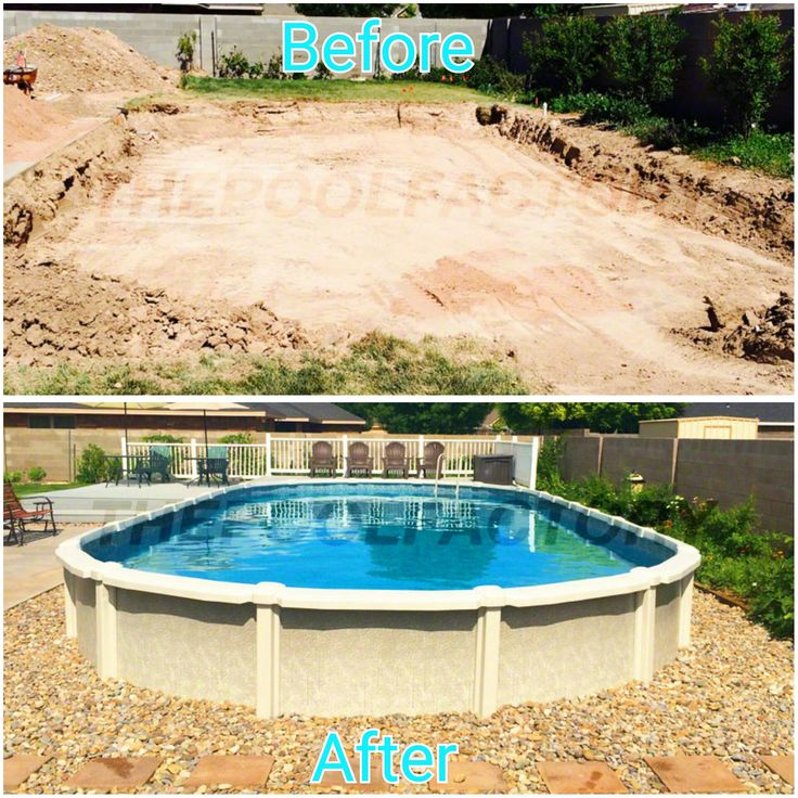 Turn an empty space in your yard to a lifetime of memories thepoolfactory pool backyard - Above ground pools for small spaces model ...