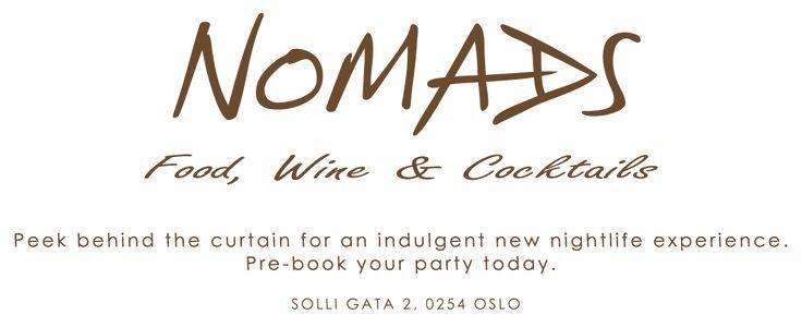 Restaurant Nomads - Restaurant Nomads Solli Plass come, enjoy and relax, Restaurant Nomads Frogner - Japansk mat - Asiatisk Restaurant - Nomads Bar - Nomads Cocktails, Nomads Vin - Wine