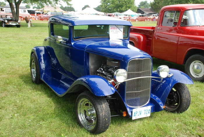 One of about 900 cars at the Bothwell, Ontario Car show 2011.