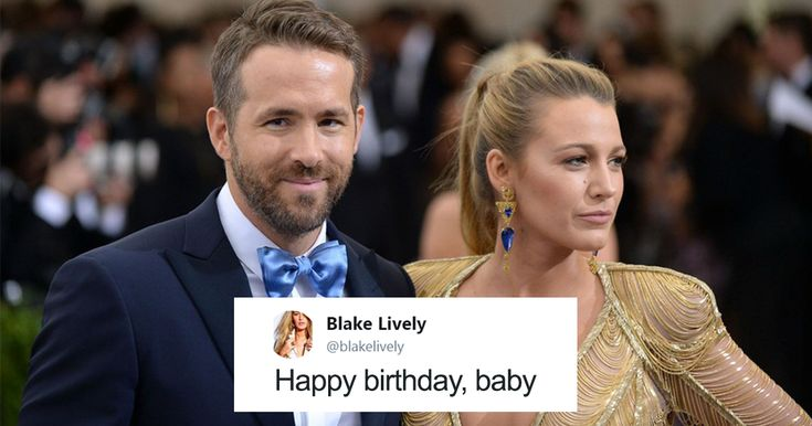 """Blake Lively's Savage Revenge On Ryan Reynolds Is Probably The Best Birthday Message On Twitter Ever 