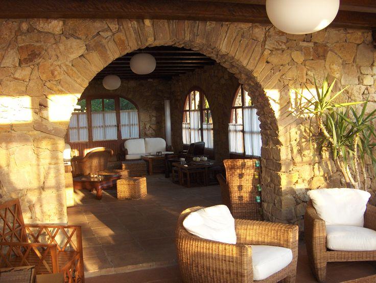 Hotel Galena Mas Comangau. Salón