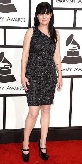 Pauley at the Grammy Awards 2014
